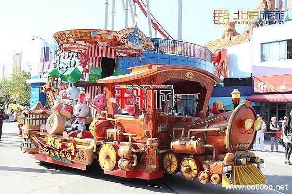 第十三届北京国际旅游节彩车巡游(图)