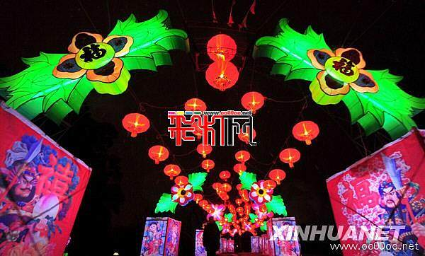 武汉东湖花灯会