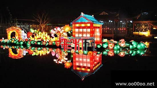 2012南翔古猗园新春游园会彩灯组景征集设计方案