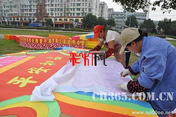 2011和县第五届蔬菜博览会彩灯展【图】