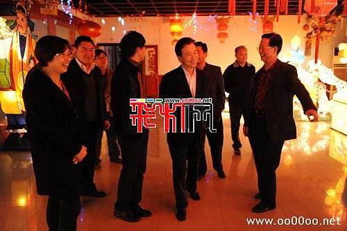 陈吉明副市长调研视察海天彩灯