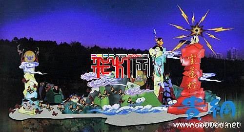 贵阳将举办观山湖公园2012春节灯会庙市