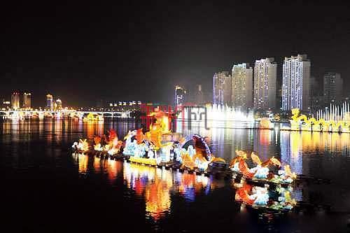 """2012吉林市河灯文化节进入倒计时 将""""点亮""""世界纪录"""