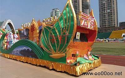 广州国际旅游文化节2012彩车大巡游