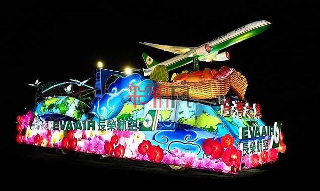 2012上海旅游节花车巡游-台湾之翼-长荣航空