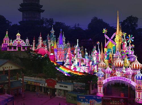 2013年第十九届自贡国际恐龙灯会提前看