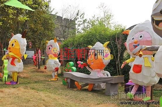 """枣庄市薛城区举办2013首届""""临山之夜""""花灯会"""