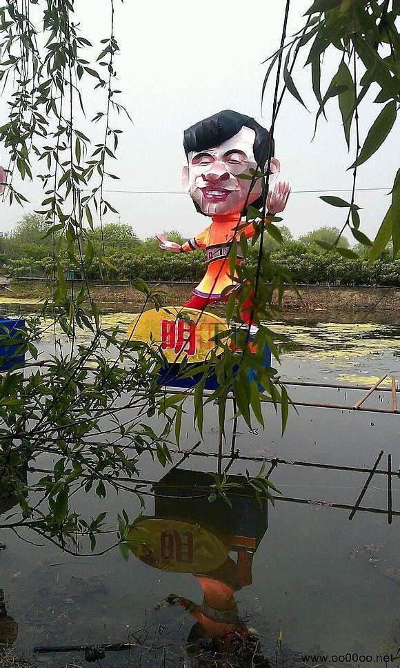 2013自贡灯会亮相塘栖琵琶湾(多图首发)