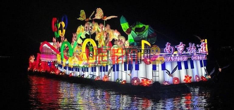 第十六届中国苏州国际旅游节彩船巡游(多图首发)
