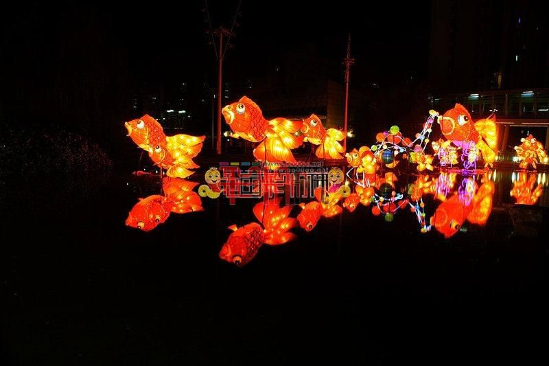 2013年青岛城阳市民节灯会