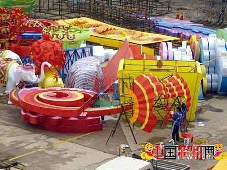 (组图)2013首届玉溪中秋国庆大型灯展提前看