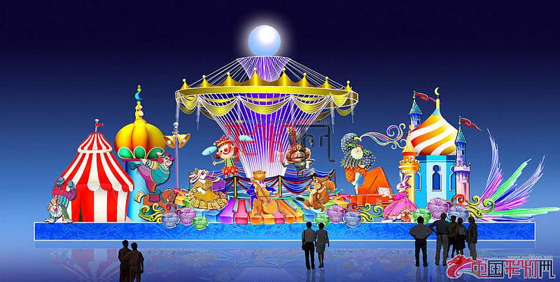 2014中国长春北湖第二届国际消夏啤酒节长春啤酒节灯展设计方案-狂欢盛宴