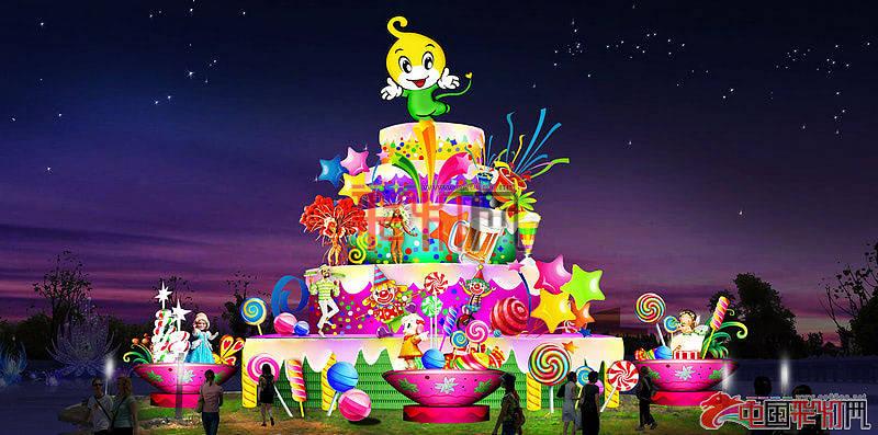 2014中国长春北湖第二届国际消夏啤酒节长春啤酒节灯展设计方案-欢乐世界