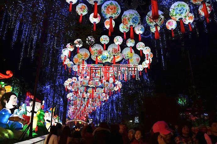 尝鲜2015年第二十一届自贡国际恐龙灯会