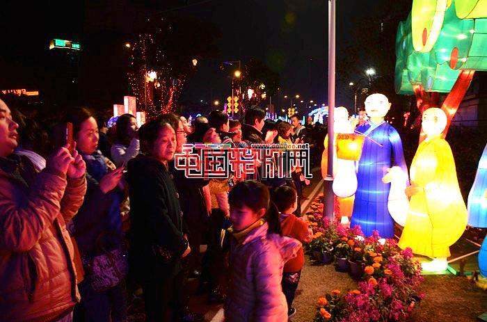 2015福建马尾东江滨元宵花灯抢鲜看!(日夜景)