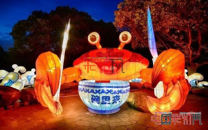 """看免费无锡梅园""""冰川时代""""灯会就来中国彩灯网"""