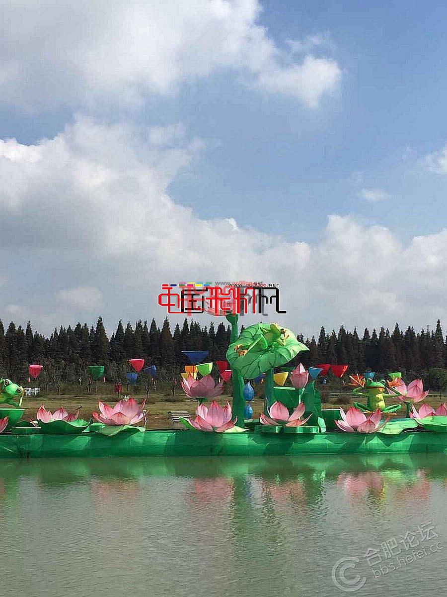 2015包河大圩首届中秋灯会9月19日开幕