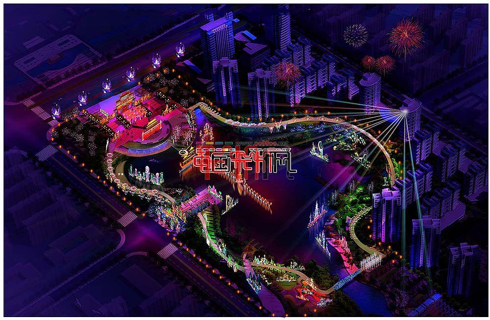 2016年南昌首届大型艺术灯展