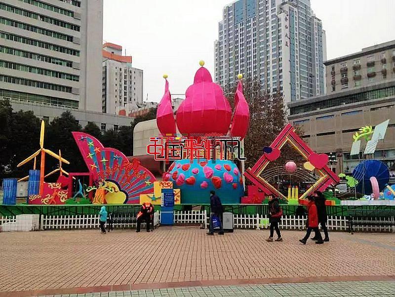 """网上观灯-2016""""幸福美丽绵阳""""迎春灯展"""