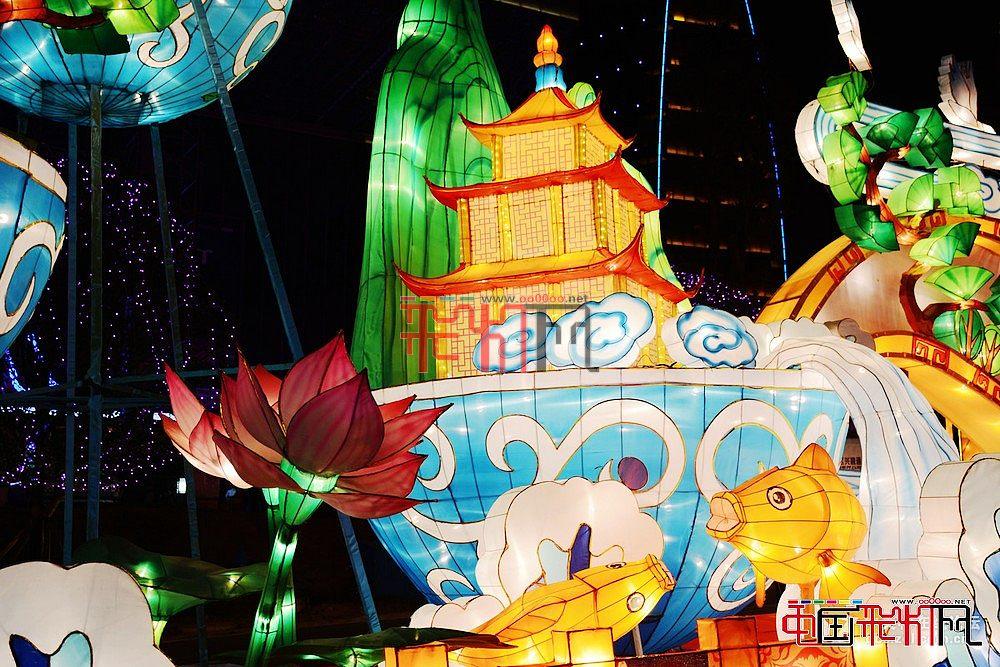 """""""金猴腾云光耀贵阳""""2016年贵阳观山湖区灯会"""
