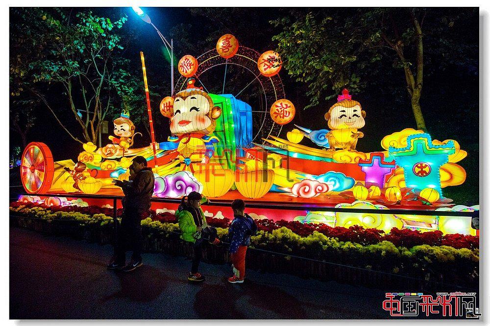 网上观灯-2016广州越秀灯会