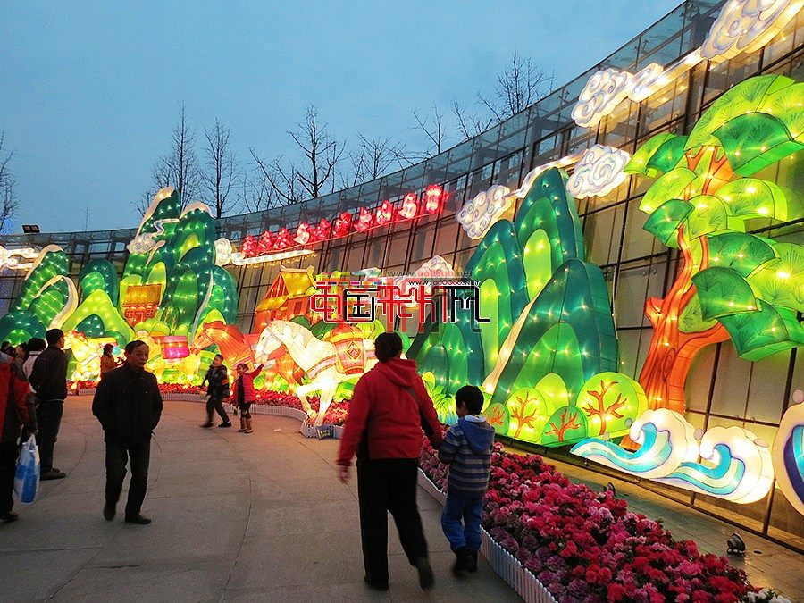 2015成都金沙遗址灯会(金沙太阳节活动)