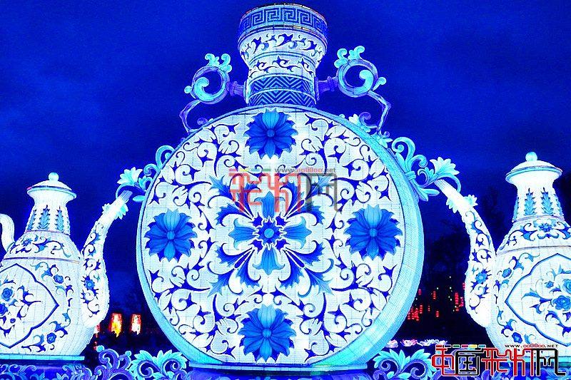 中国彩灯走进吉尔罗伊花园主题公园