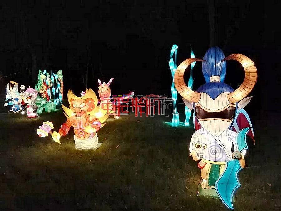 2016江苏梅园狂欢灯会第二波来袭