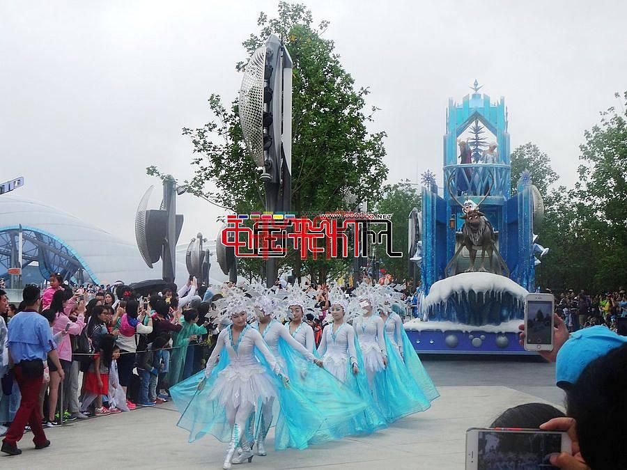 2016上海迪士尼花车巡游
