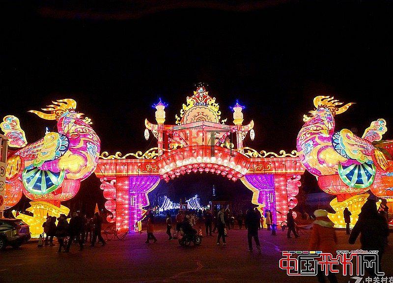2017铁岭莲花湖第三节迎春灯会