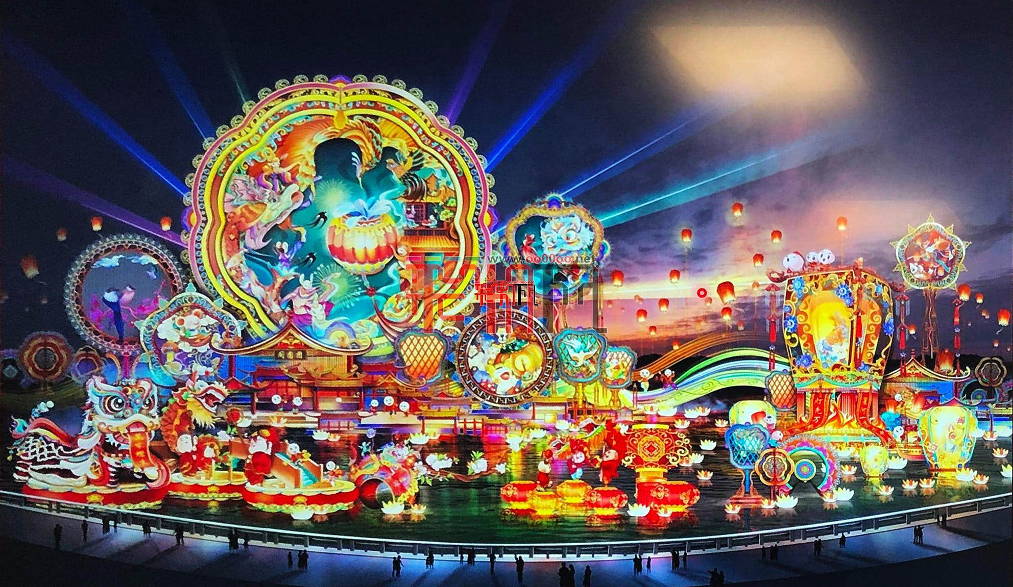 2020年第26届自贡国际恐龙灯会设计图抢先看