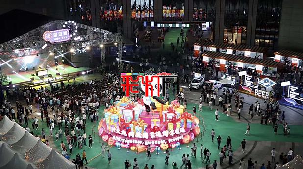 """自贡灯首秀""""进博会""""国展中心大获成功"""