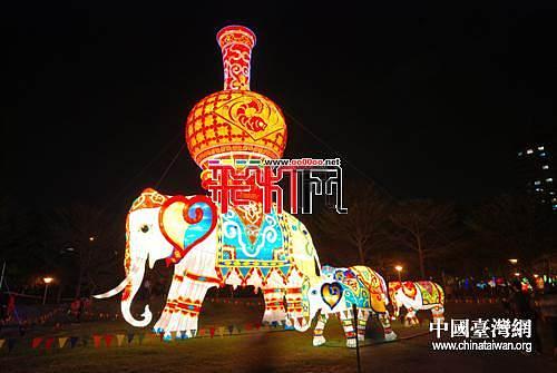 精彩川灯再度惊艳中台湾元宵灯会