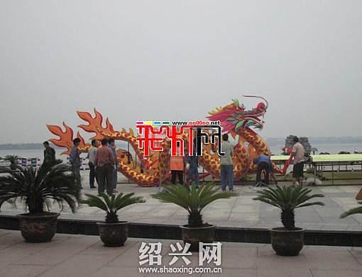 2012十一黄金周瓜渚湖灯会