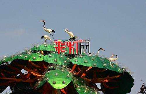 2014第二十届自贡国际恐龙灯会紧张制作中