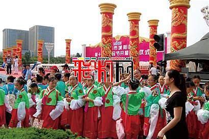 青岛城阳区第11届市民节豪华彩车巡游