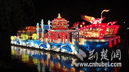 """""""武汉号""""彩船惊艳亮相2012苏州国际旅游节"""