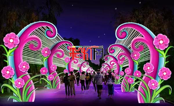中国·铁岭2016莲花湖迎春灯会