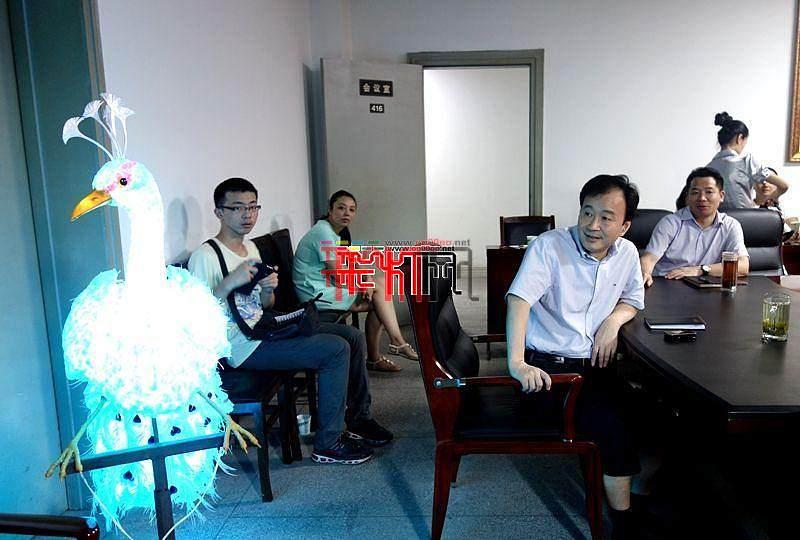 第二十一届自贡国际恐龙灯会园内创意设计方案第三次审查会召开