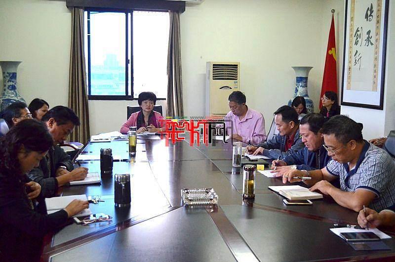 2016年第二十二届自贡国际恐龙灯会指挥部成立
