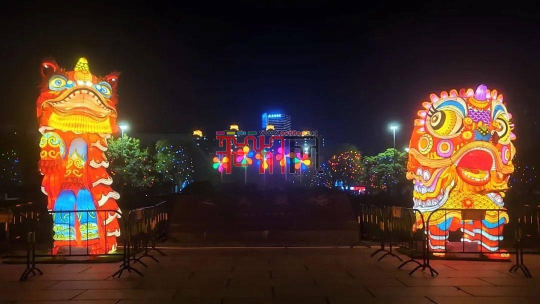 第25届古镇灯博会开幕