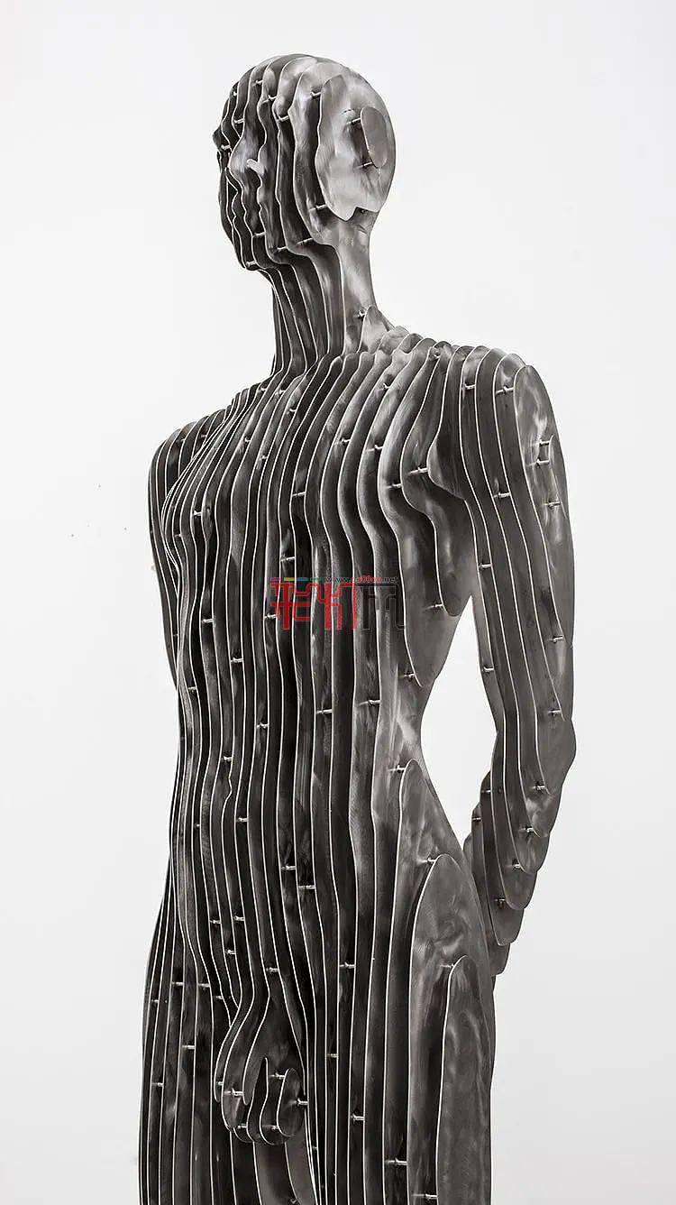 令人惊叹的人体雕塑