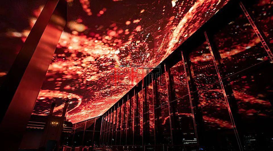灯光设计-运动天花板