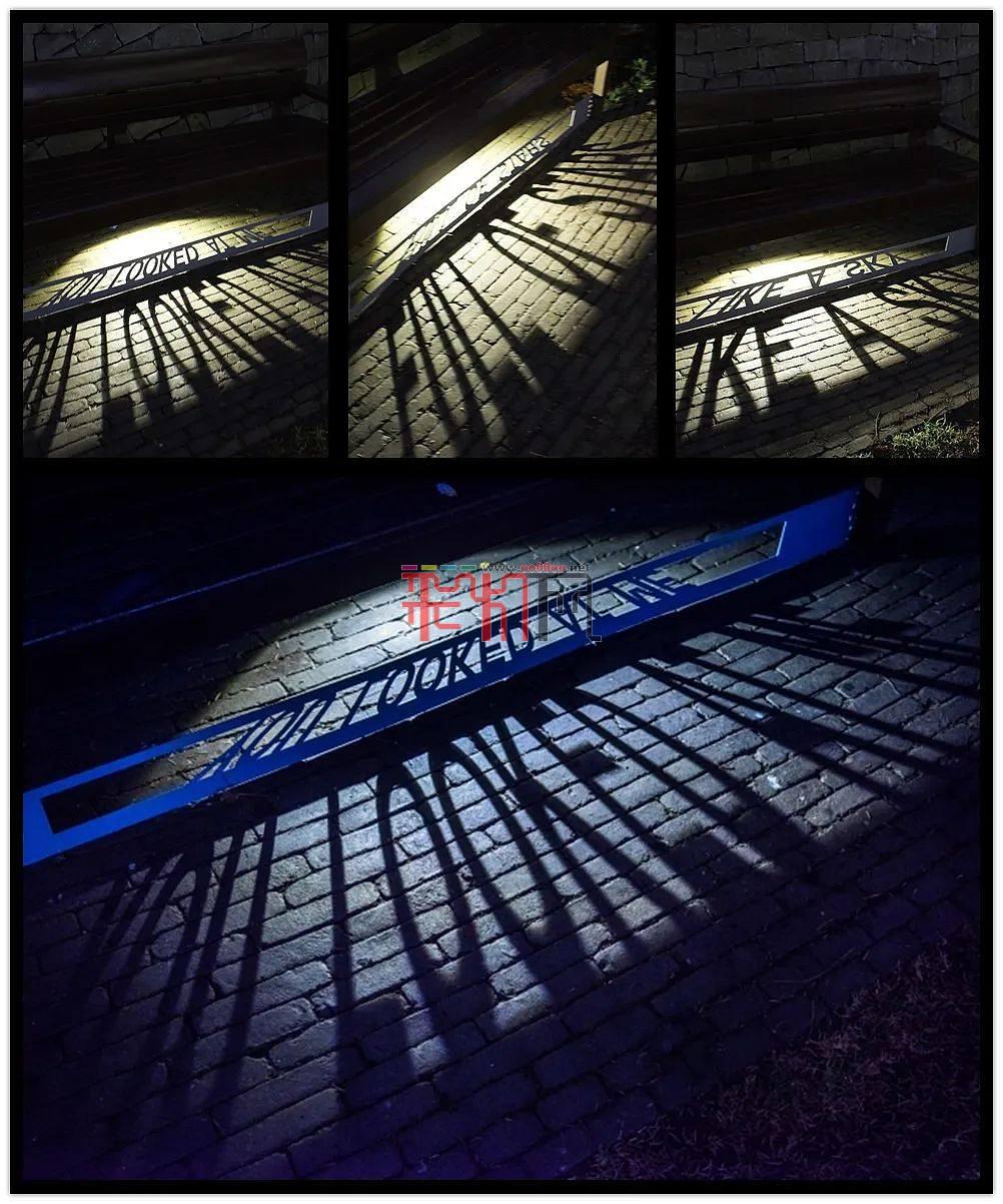 伦敦灯光艺术装置作品