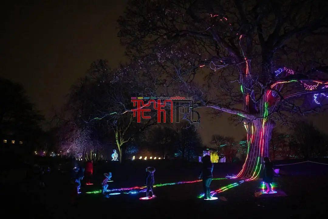 圣誕節唯一大型戶外活動Lightopia彩燈節點亮曼徹斯特