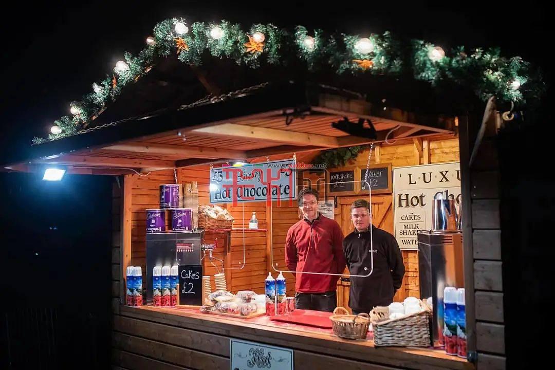 圣诞节唯一大型户外活动Lightopia彩灯节点亮曼彻斯特