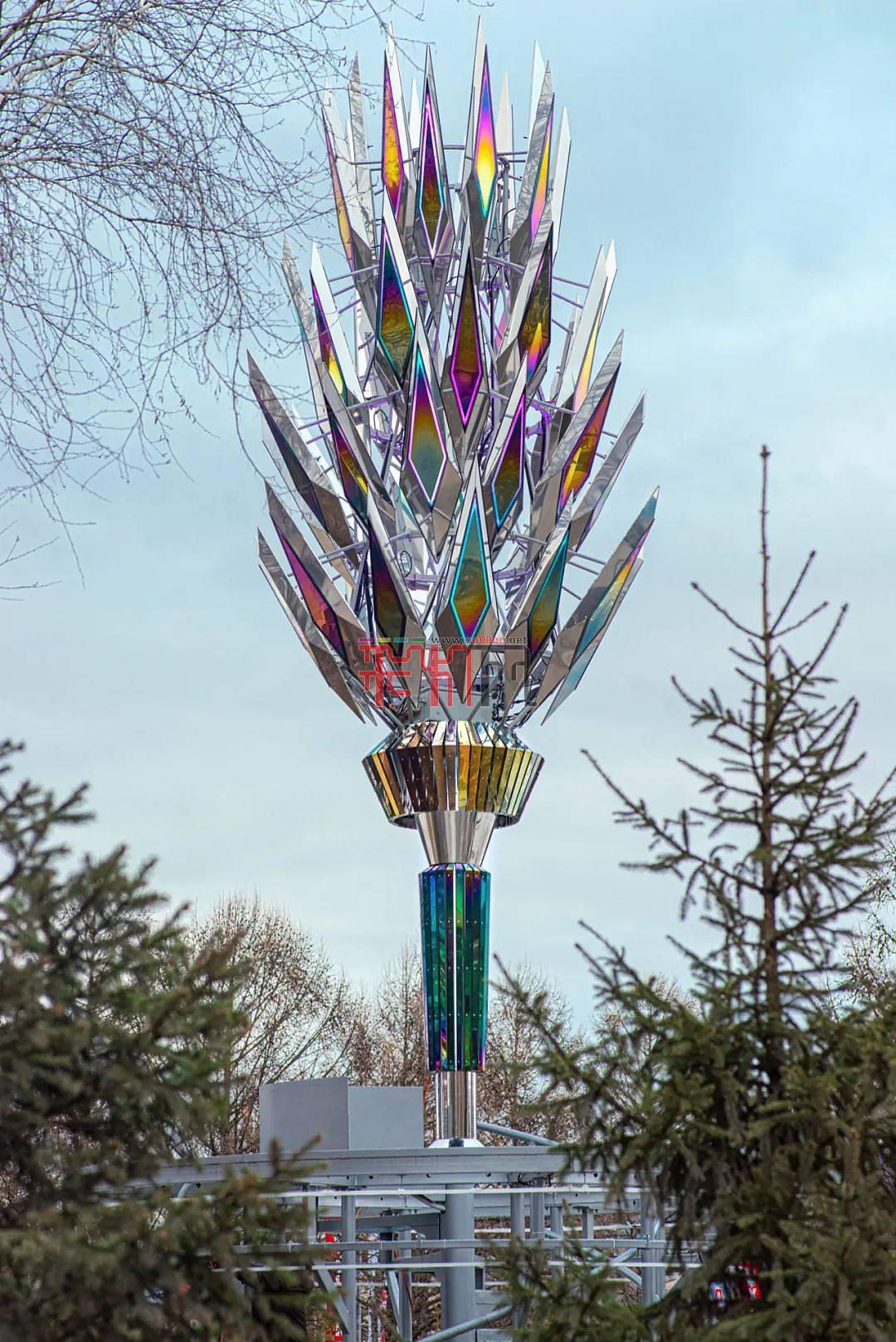 公共藝術裝置帶觀景臺雕塑