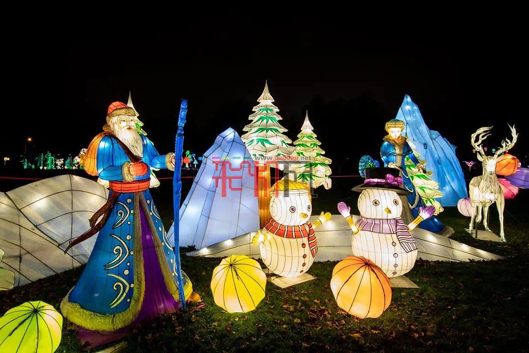 2020年欧洲大陆圣诞季爱沙尼亚彩灯节