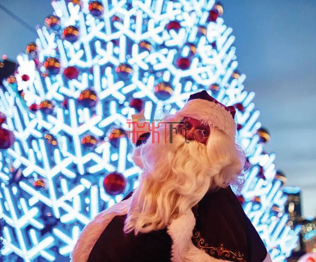 圣誕藝術裝置云欣賞