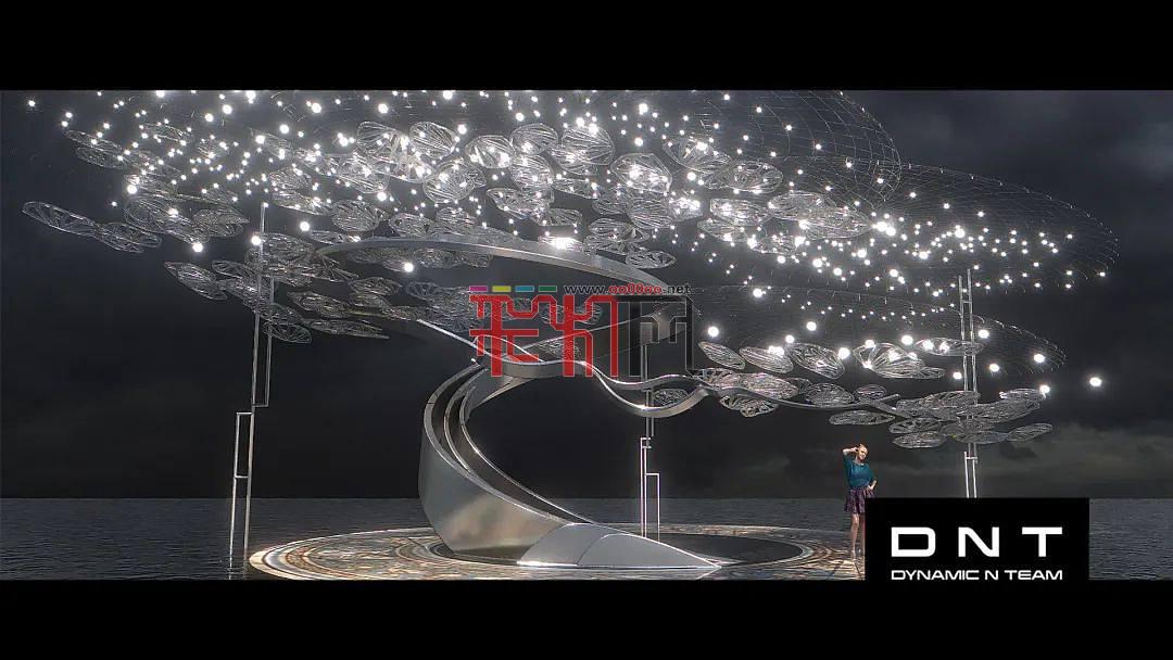 2021央视七夕晚会光影设计